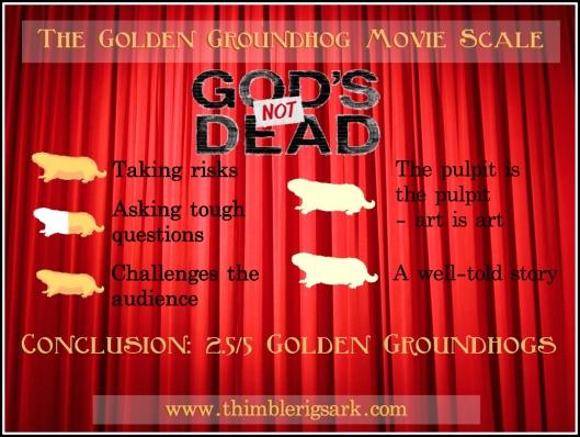 Golden Groundhogs God's Not Dead